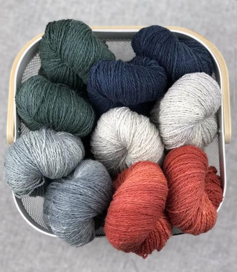 Wild Brier 8ply Wool/Silk