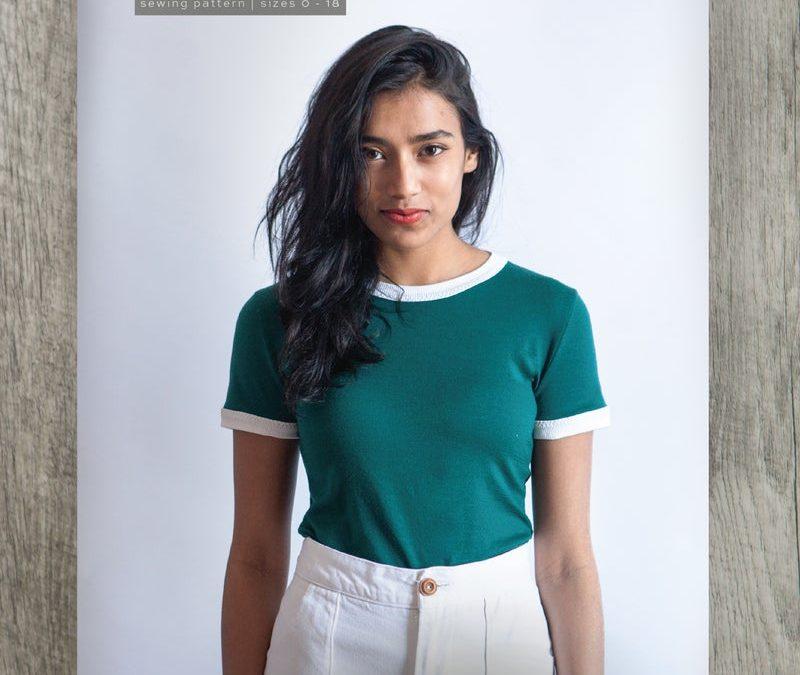 Rio Ringer T-Shirt & Dress Pattern by True Bias